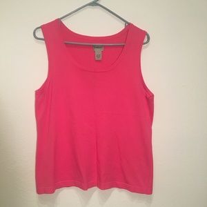 50% OFF BUNDLES - Chico's Pink Sweater Tank top 2